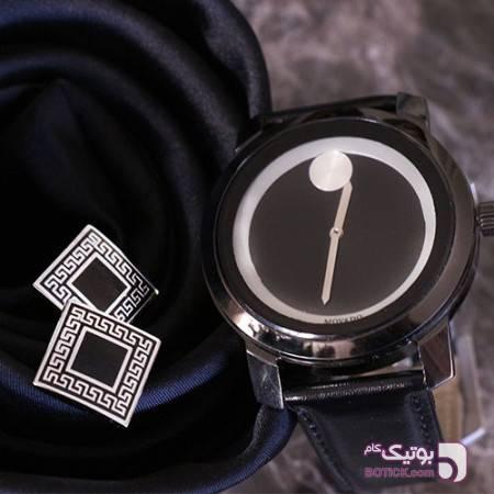 ساعت مچی Movado زرد ساعت