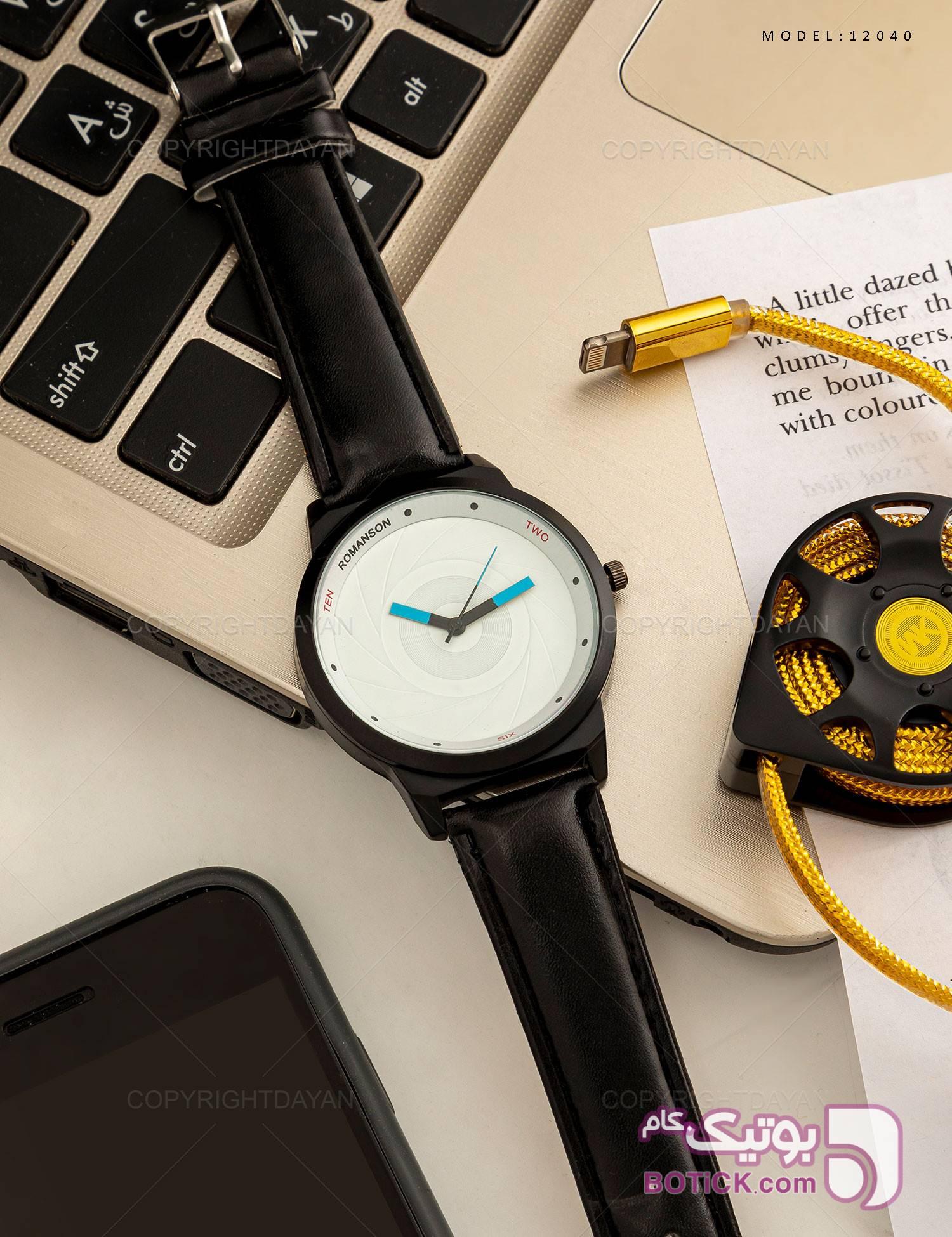 ساعت مچی Romanson مدل 12040 مشکی ساعت
