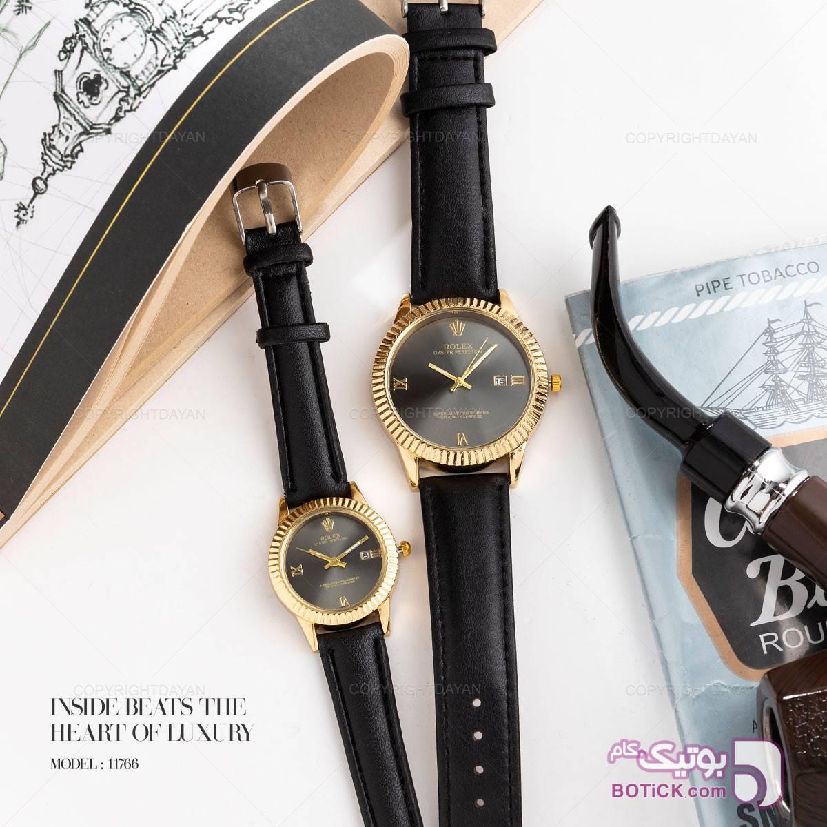 ست ساعت مچی Rolex مدل 11766 زرد ساعت