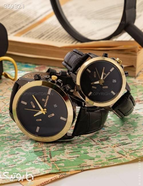 ست ساعت مچی Romanson مدل 12030 مشکی ساعت
