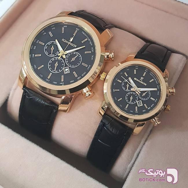 ست ساعت مچی Romanson مدل X2 زرد ساعت