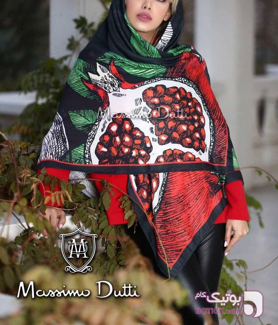 روسری انار قرمز شال و روسری