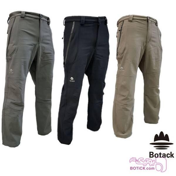 شلوار کوهنوردی بوتک Botack (ضدآب) سبز شلوار زنانه