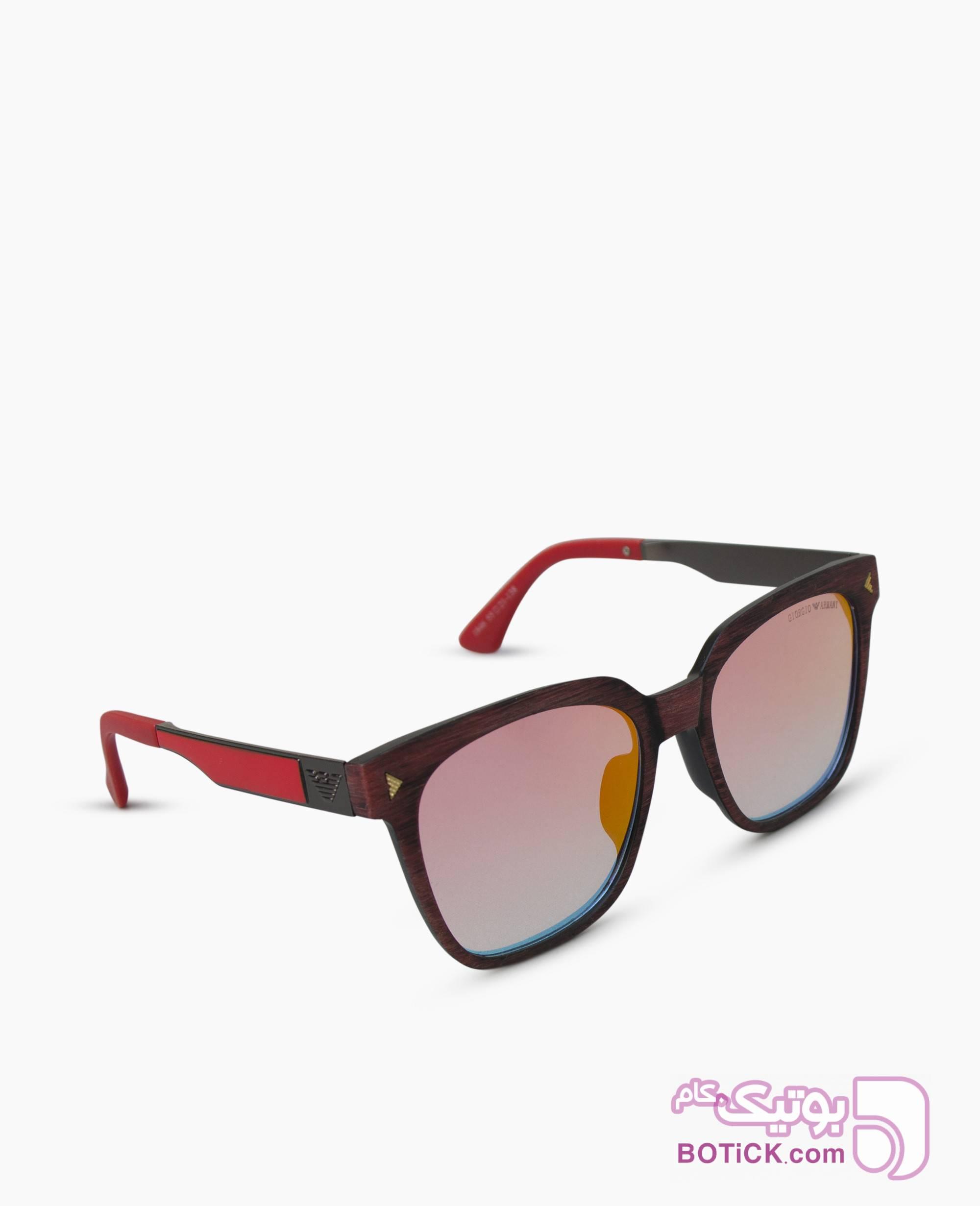 عینک آفتابی جیوه ای ARMANI کد J1846 صورتی عینک آفتابی