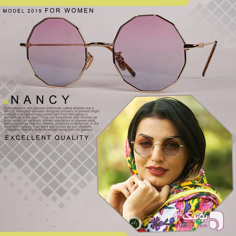 عینک آفتابی زنانه مدل Nancy (صورتی) صورتی عینک آفتابی