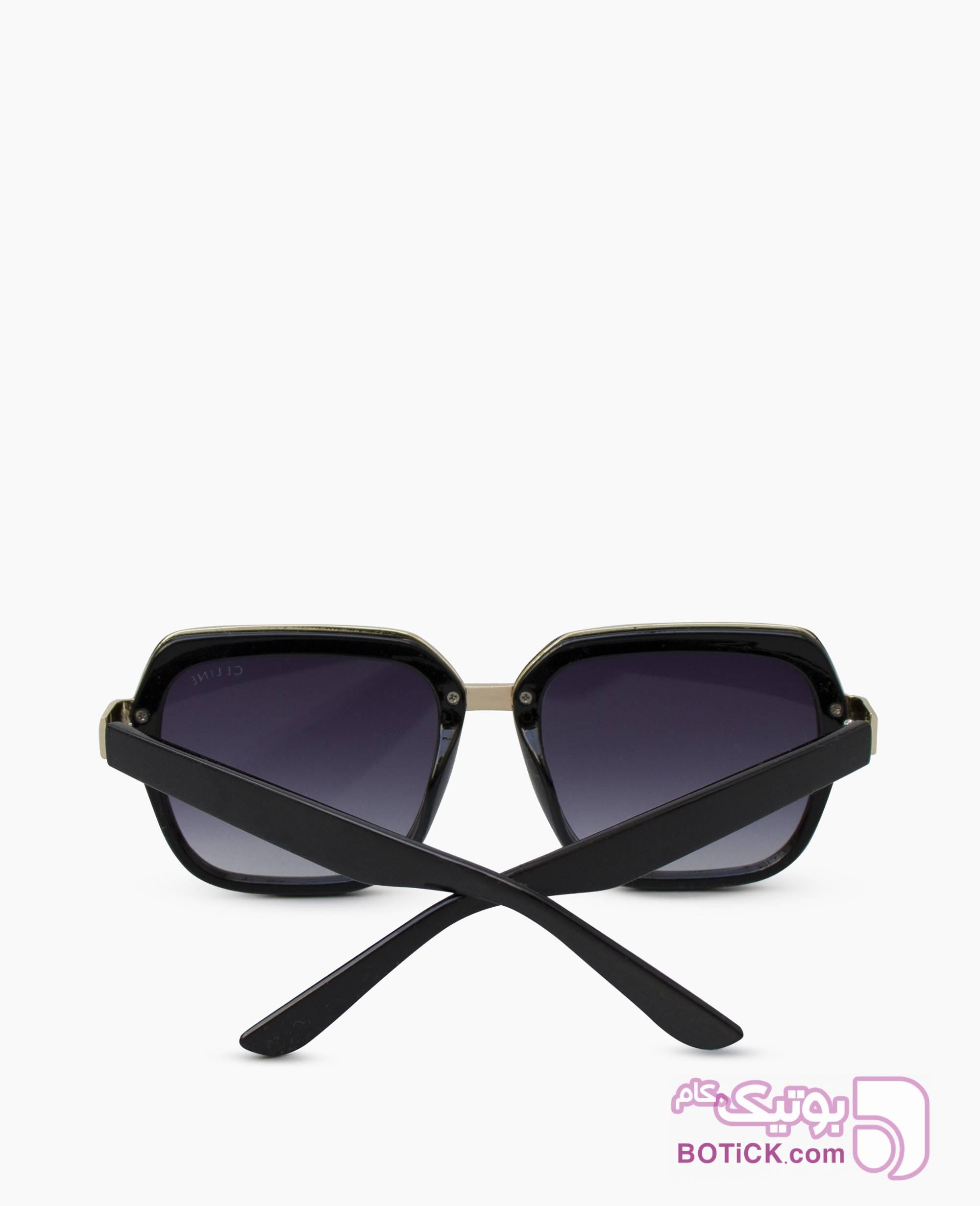 عینک آفتابی CELINE کد 8435 مشکی عینک آفتابی