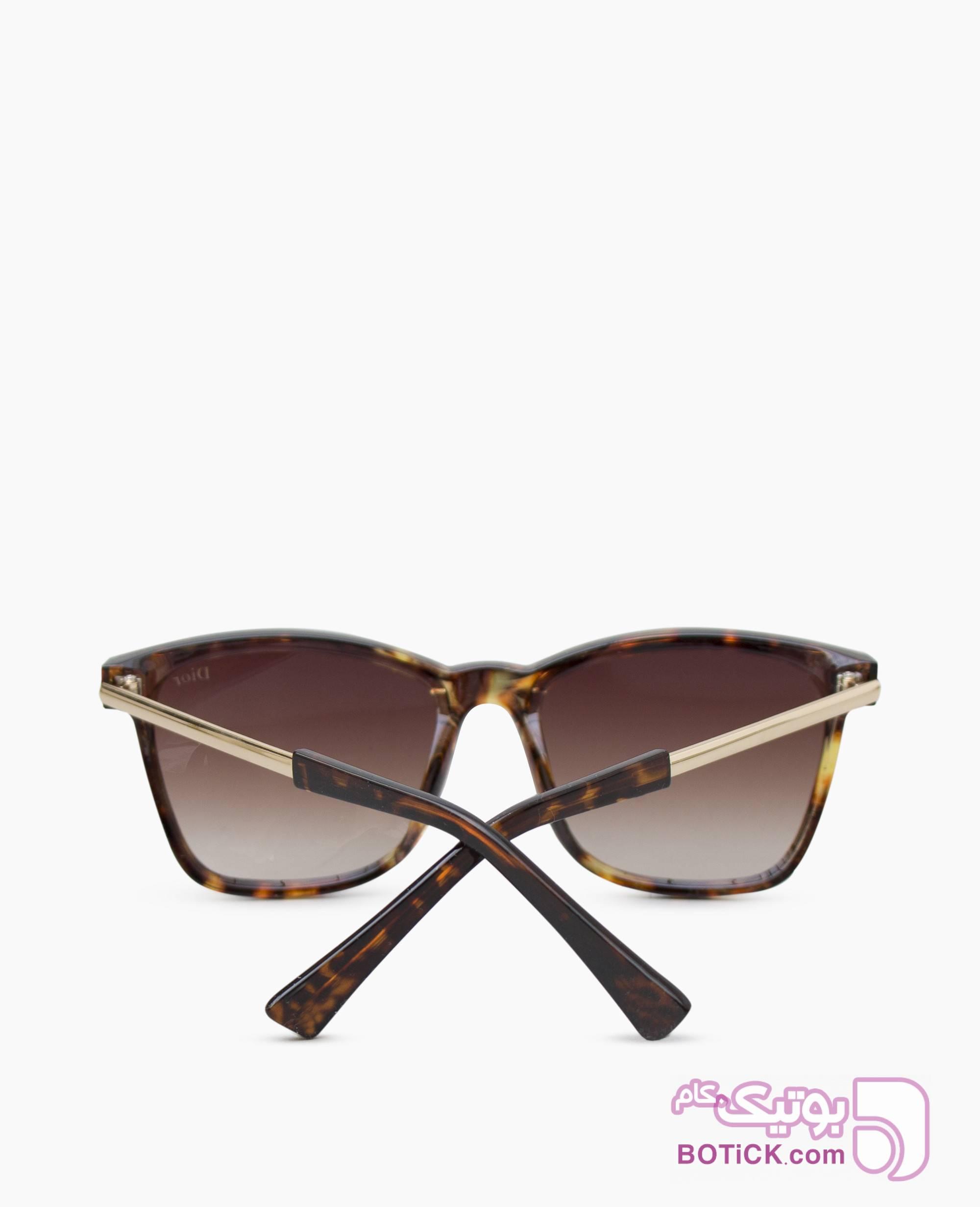 عینک آفتابی DIOR کد 39014 مشکی عینک آفتابی