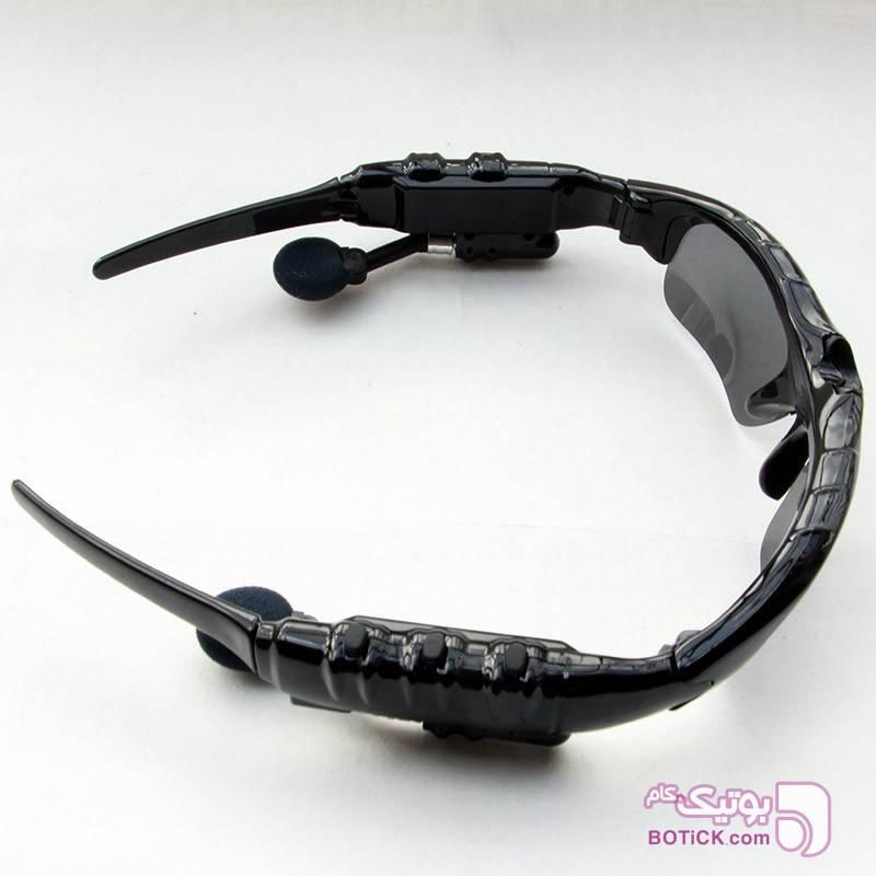 عینک آفتابیmp3بلوتوث دار+4gigحافظه داخلی مشکی عینک آفتابی