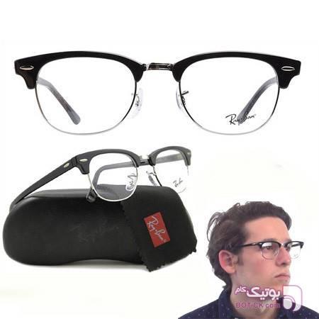عینک طبی ری بن کلاپ مستر سفید عینک طبی