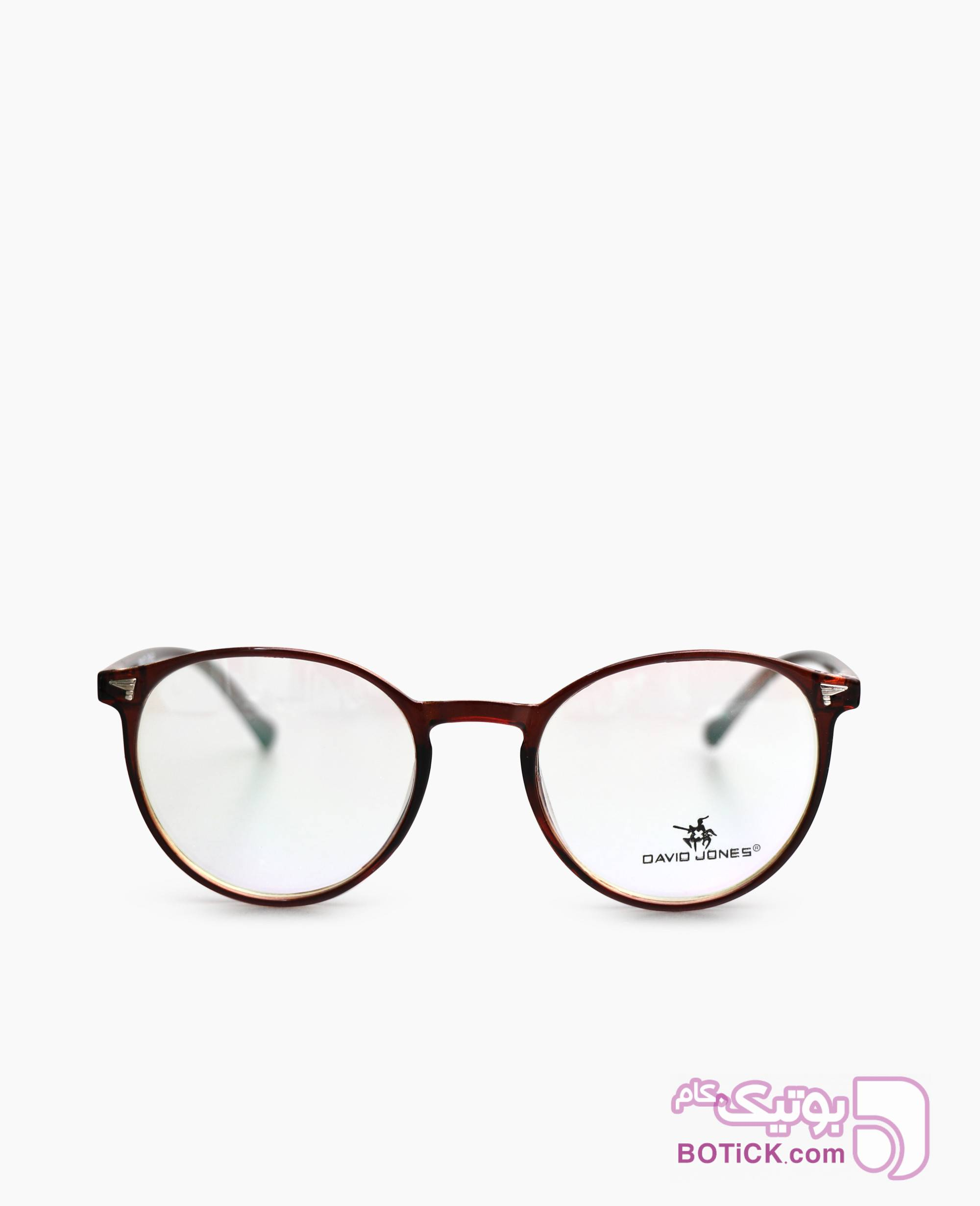 فریم عینک طبی David Jones کد 2453 مشکی عینک طبی