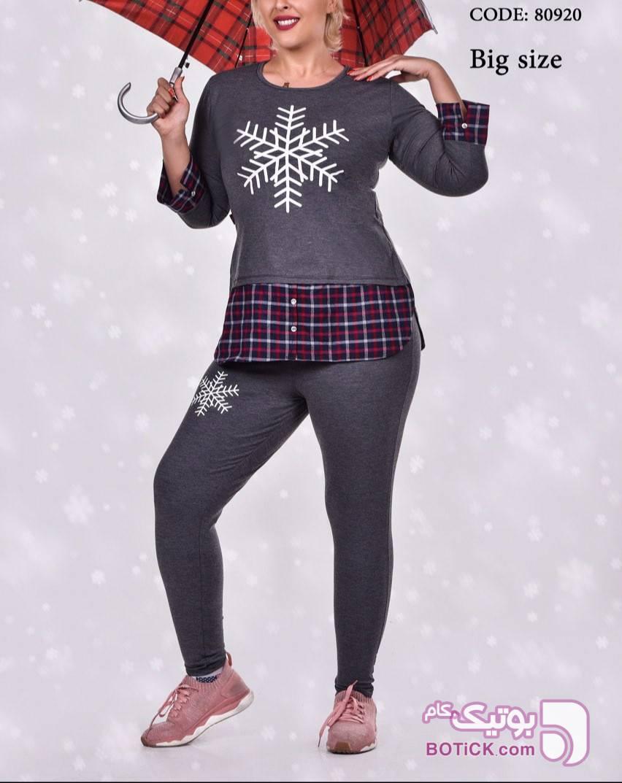 ست sonex  نقره ای لباس راحتی زنانه