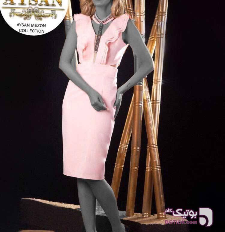 سارافون صورتی لباس  مجلسی