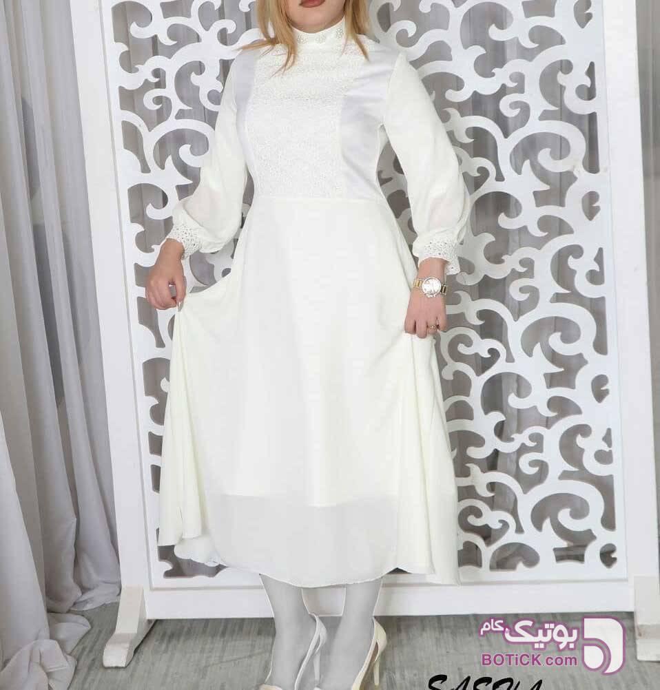 عقد و مجلسی سفید لباس  مجلسی