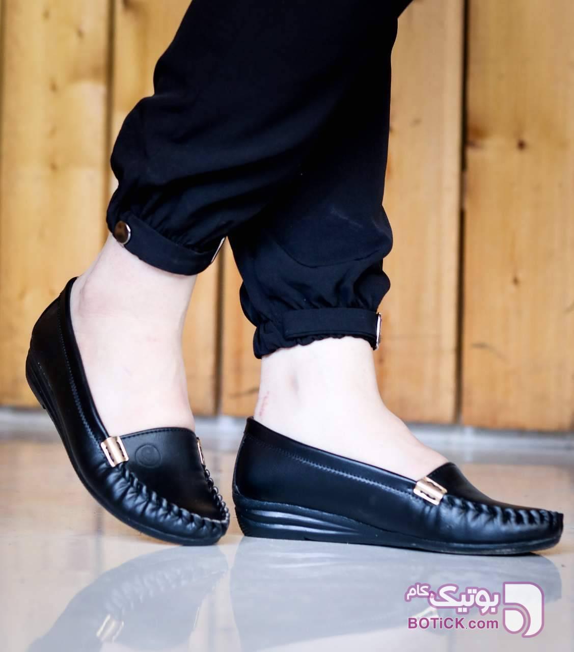 کد 723 قالب استاندارد مشکی كفش زنانه