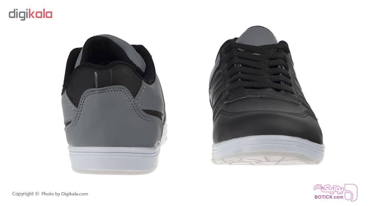 کفش ورزشی مردانه مدل K.bs.105 مشکی كتانی مردانه
