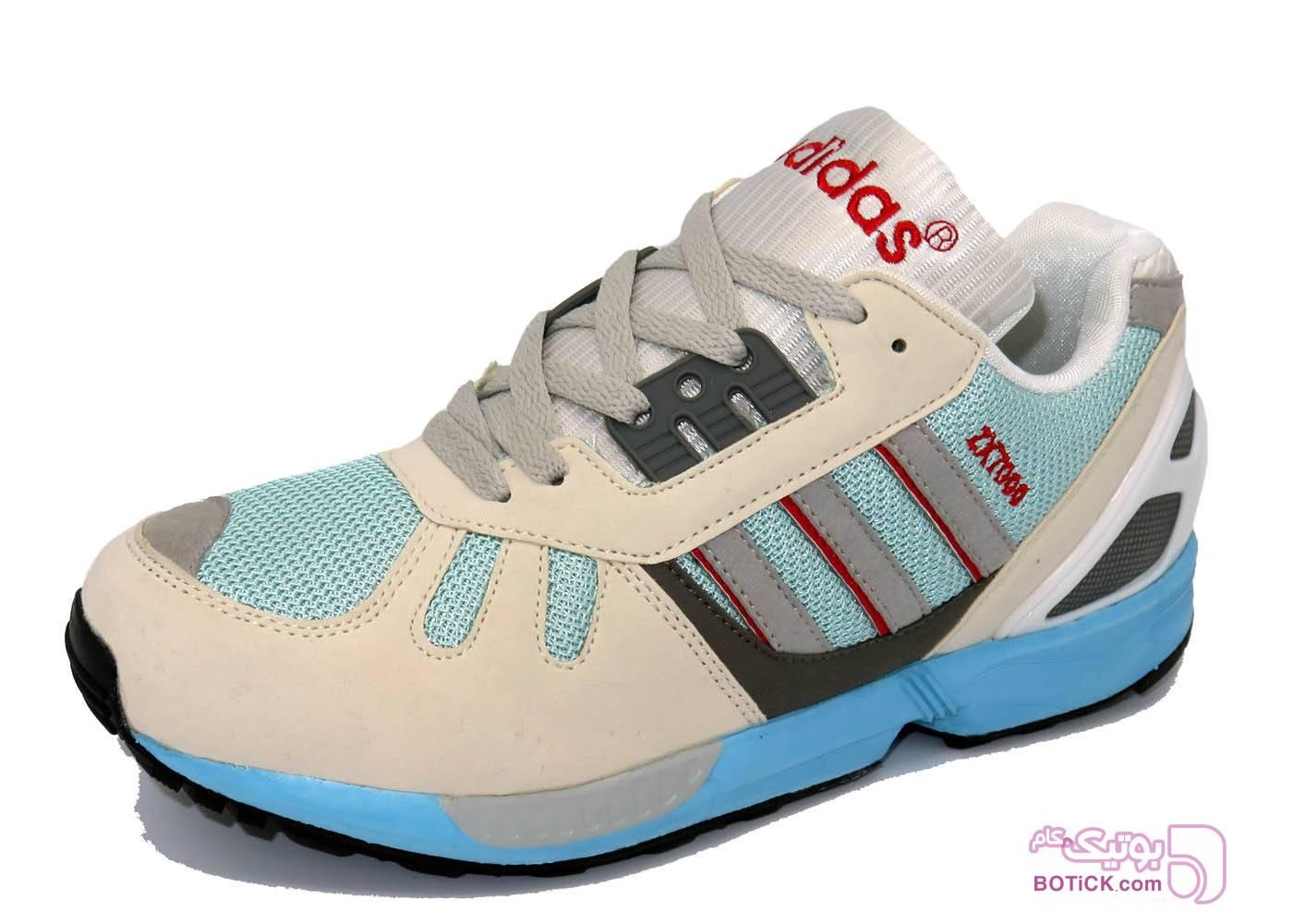 کفش و کتونی اسپرت مردانه آدیداس مدل Adidas ZX7000 آبی كتانی مردانه
