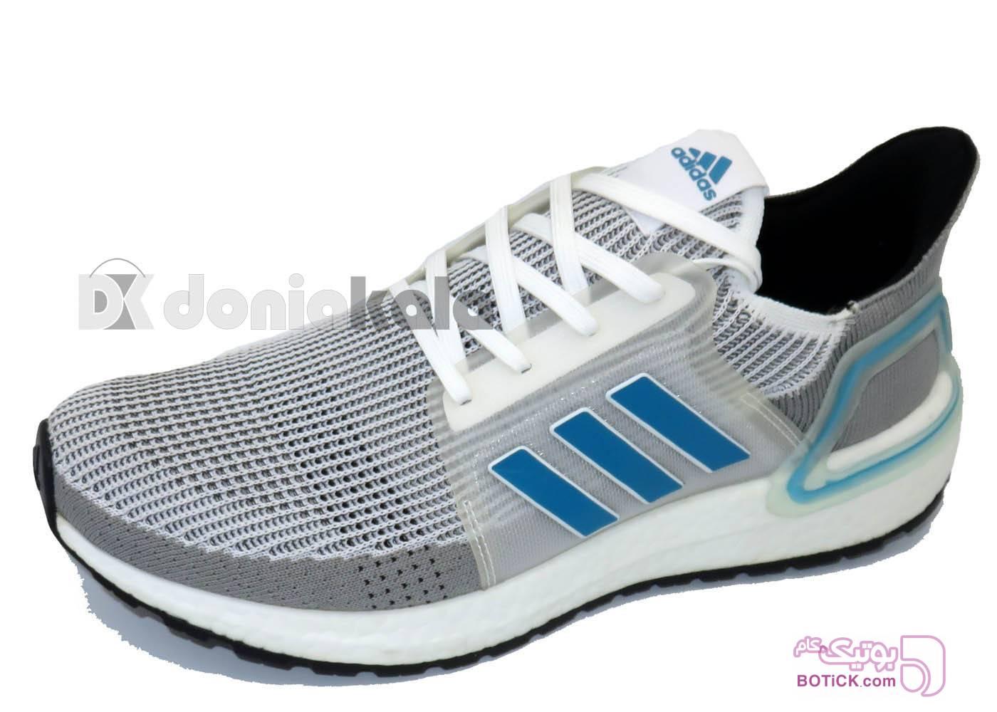 کفش و کتونی اسپرت مردانه آدیداس مدل adidas ee7519 طوسی كتانی مردانه