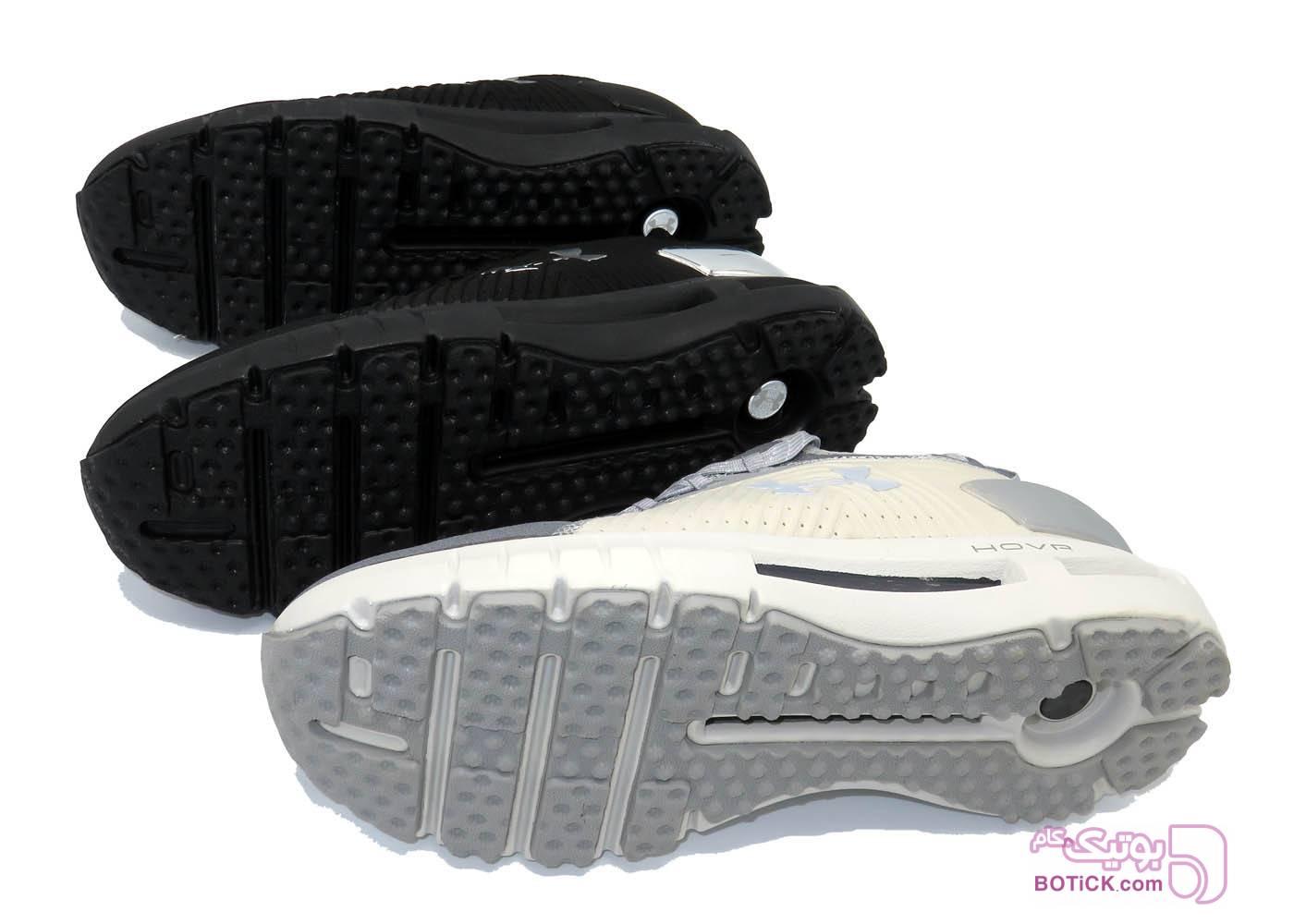 کفش و کتونی اسپرت مردانه مخصوص پیاده روی آندر آرمور مدل Under Armour 3021587-100 طوسی كتانی مردانه
