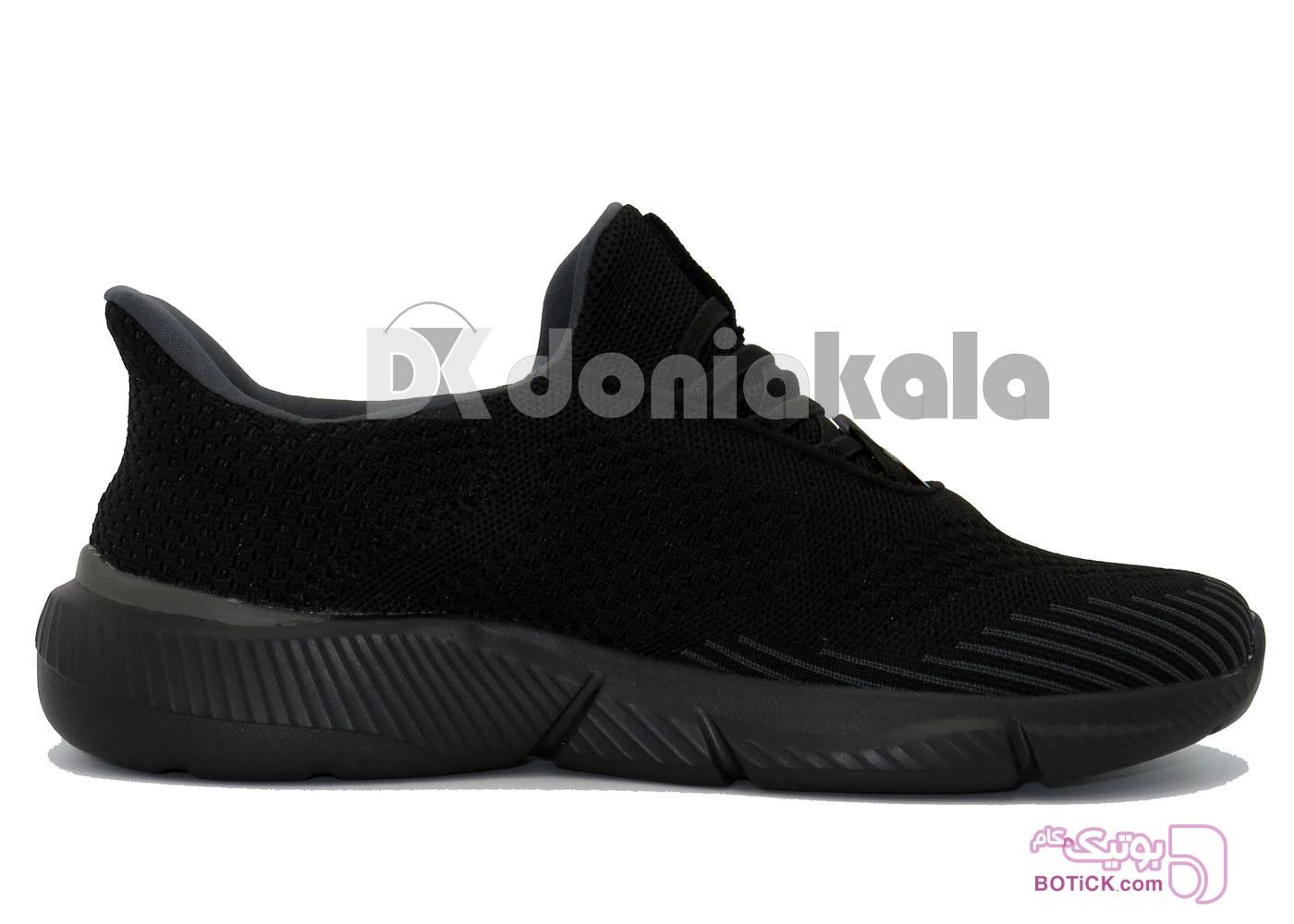 کفش و کتونی اسپرت مردانه مخصوص پیاده روی مدل اسکیچرس skechers 26-105-5-18 مشکی كتانی مردانه