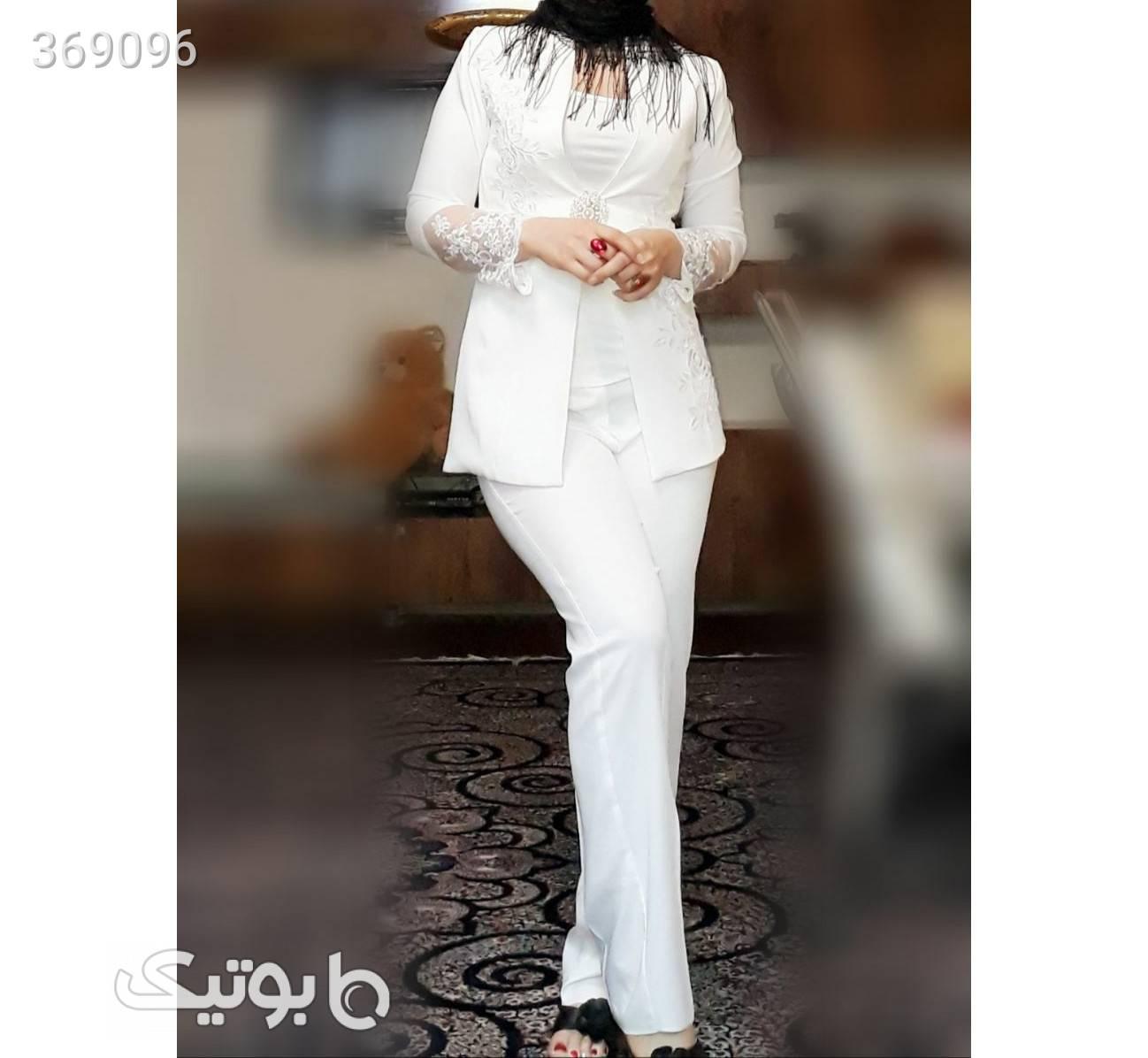 ست کت و شلوار وتاپ مدل آرتامیس سورمه ای كت و شلوار زنانه