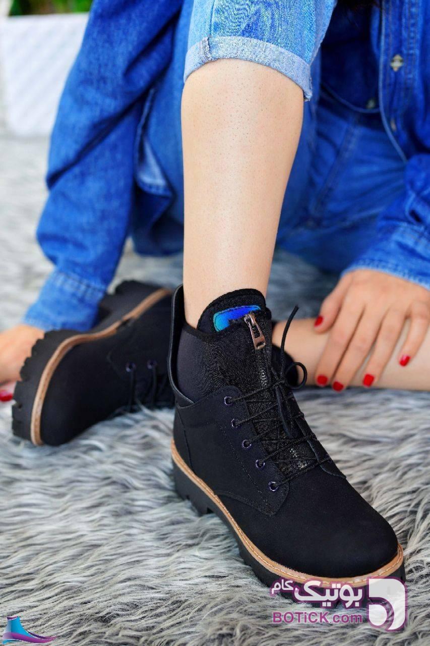 کفش شیک کد 823  مشکی كفش زنانه
