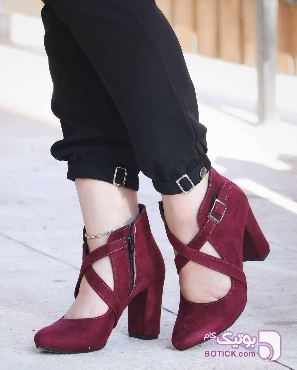 کفش مجلسی مشکی كفش زنانه