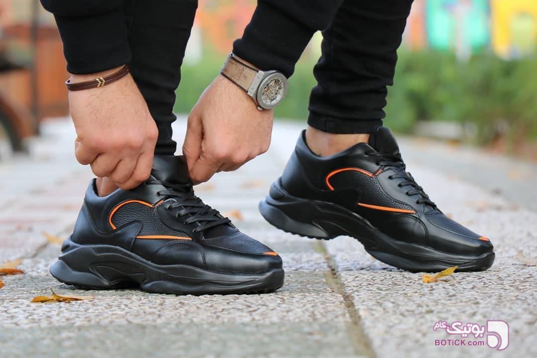 کفش اسپرت پسرانه مشکی كفش مردانه