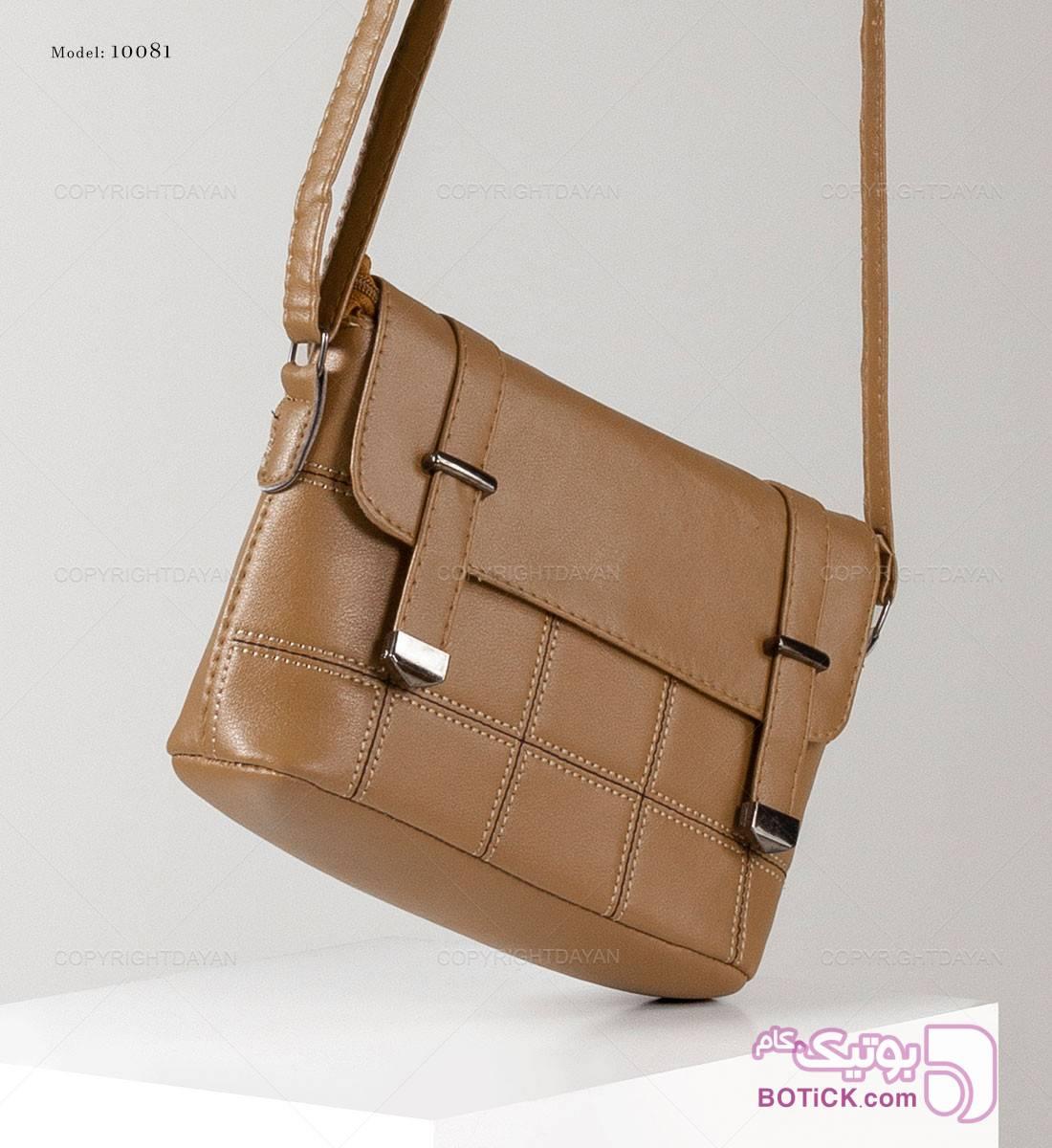 کیف چرم زنانه نقره ای كيف زنانه