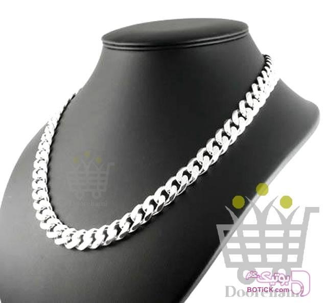زنجیر کارتیر نقره ای گردنبند