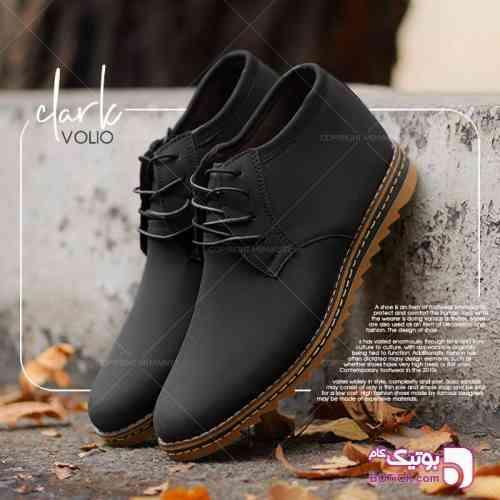 کفش ساقدار مردانه مدل volio مشکی 98 2019