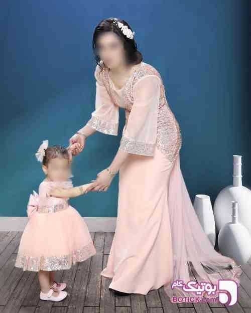 ست مادر و دختر سبز 98 2019