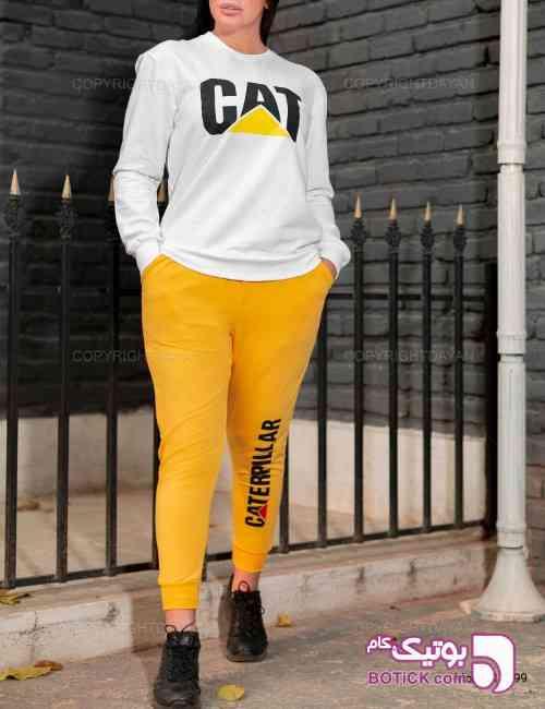 ست زنانه Caterpillar مدل 11599  زرد 98 2019