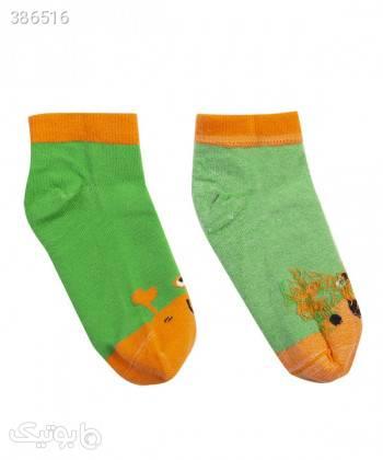 جوراب پسرانه بالنو Baleno سبز اکسسوری کودک