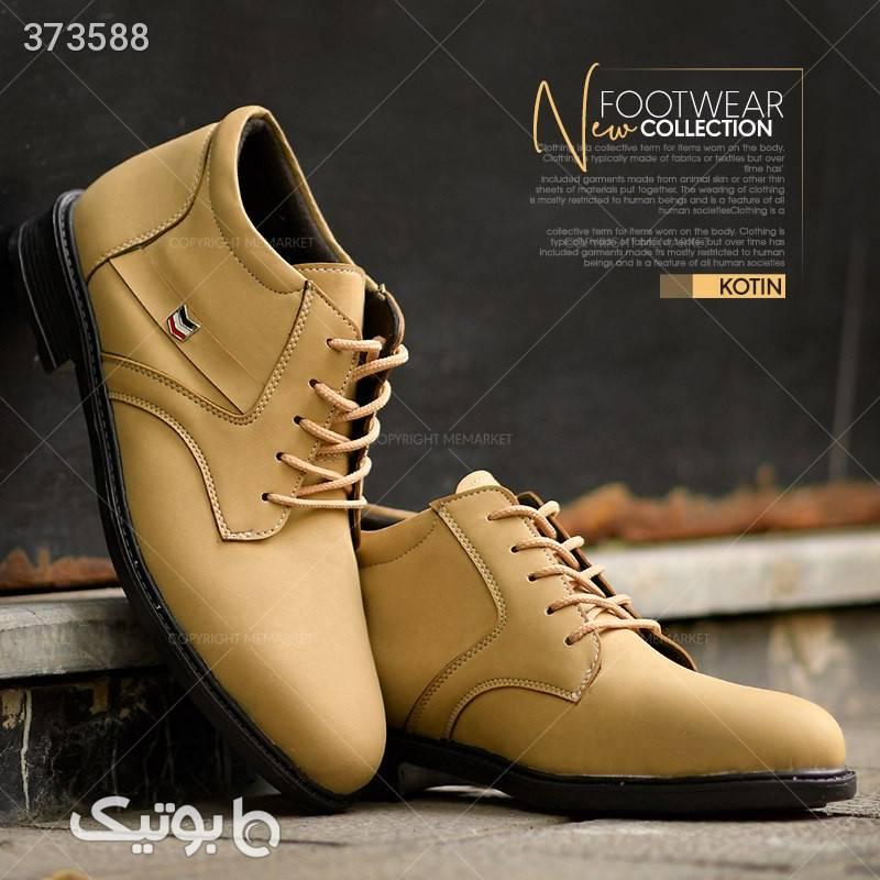 کفش ساقدار kotin طلایی بوت مردانه