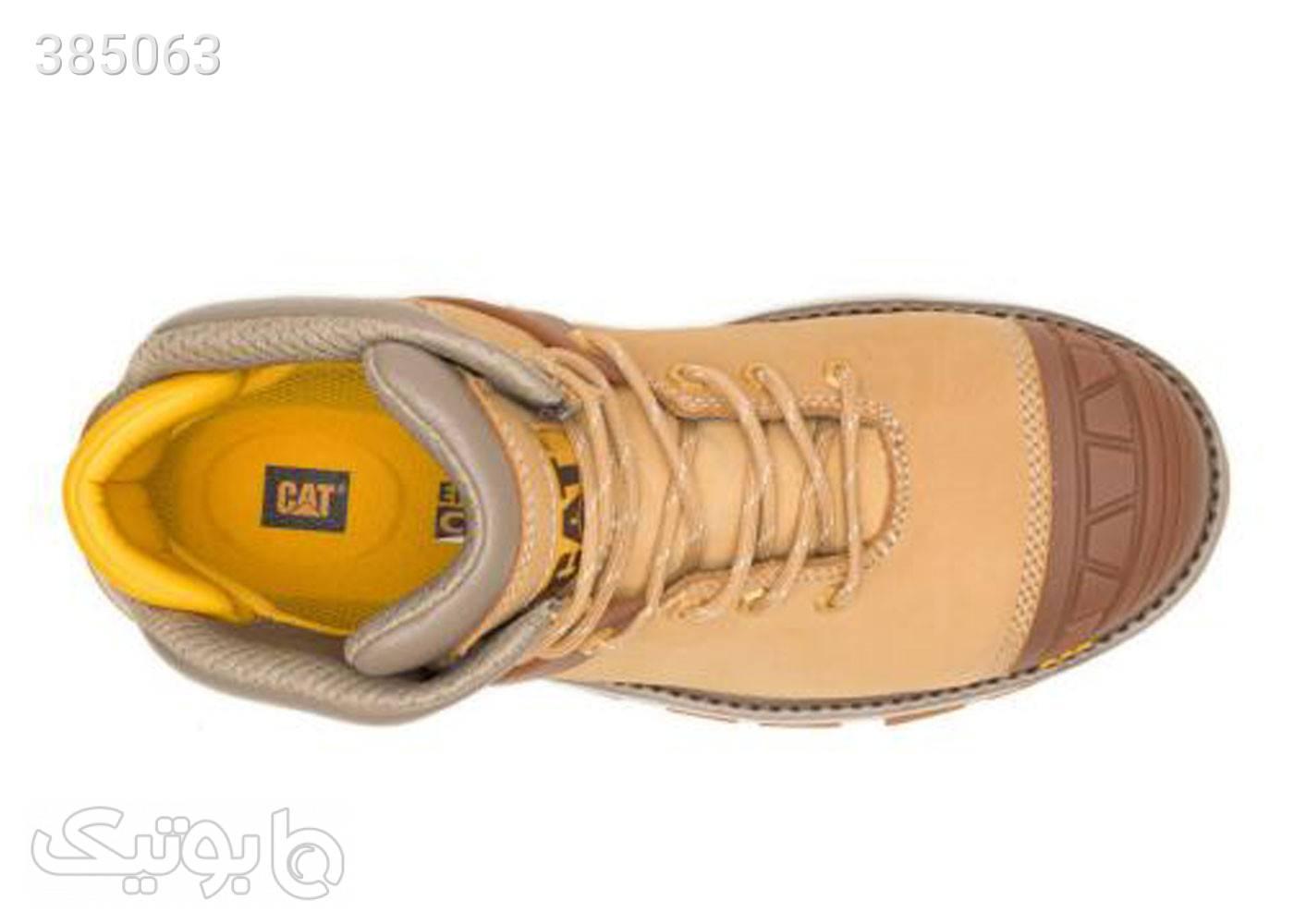 کفش ایمنی کامپوزیت مردانه کاترپیلار مدل caterpillar p91196 کرم بوت مردانه
