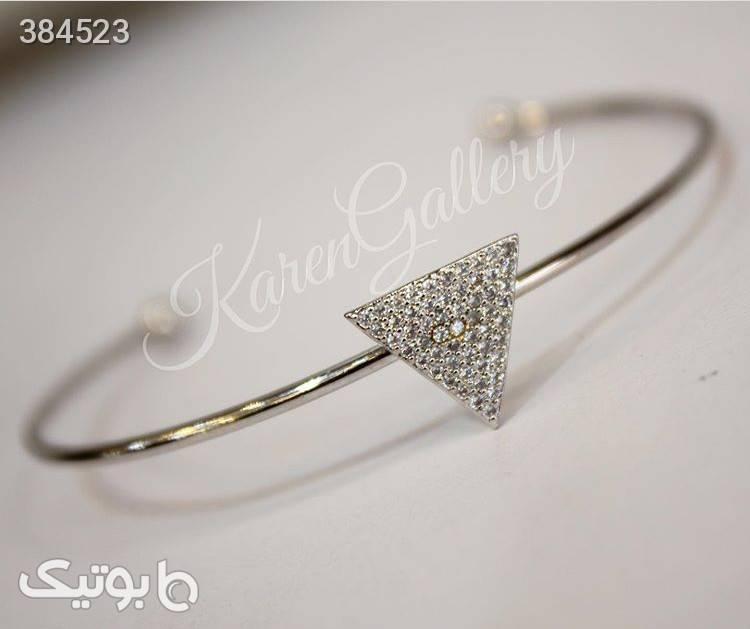 دستبند دخترانه نقره ای دستبند و پابند
