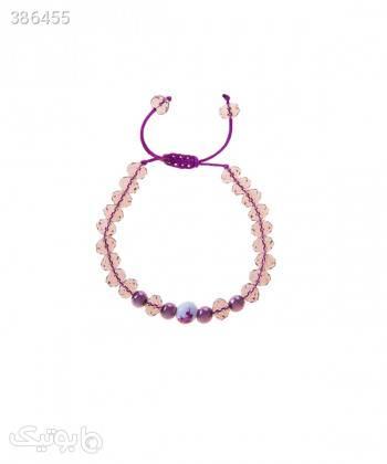 دستبند مهره ای زنانه دایس Dice کد DBS1011 صورتی دستبند و پابند