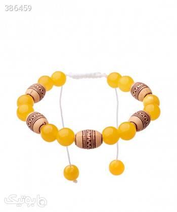 دستبند مهره ای زنانه دایس Dice کد DBS1026 زرد دستبند و پابند