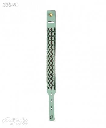 دستبند چرم طبیعی دایس Dice کد 001 فیروزه ای دستبند و پابند