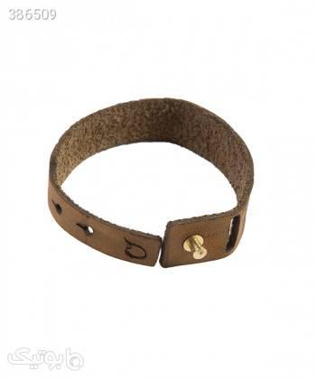 دستبند چرم طبیعی دایس Dice کد 002 زرد دستبند و پابند
