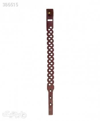 دستبند چرم طبیعی دایس Dice کد 004 زرشکی دستبند و پابند