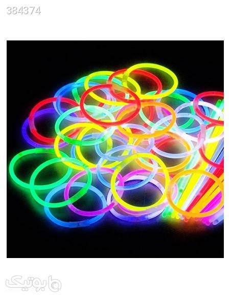 دستبند10 عددی شب رنگblack light سبز دستبند و پابند