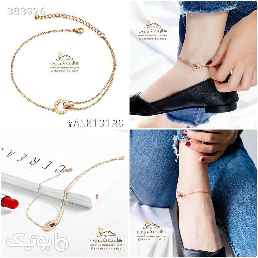 پابند طرح بولگاری ANK131R0 صورتی دستبند و پابند