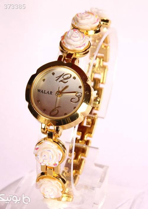 ساعت ظریف آلیسا مارک والار زرد ساعت