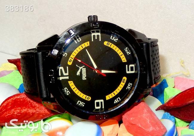 ساعت مچی مردانه اسپرت پوما PUMA مدل 692 مشکی ساعت