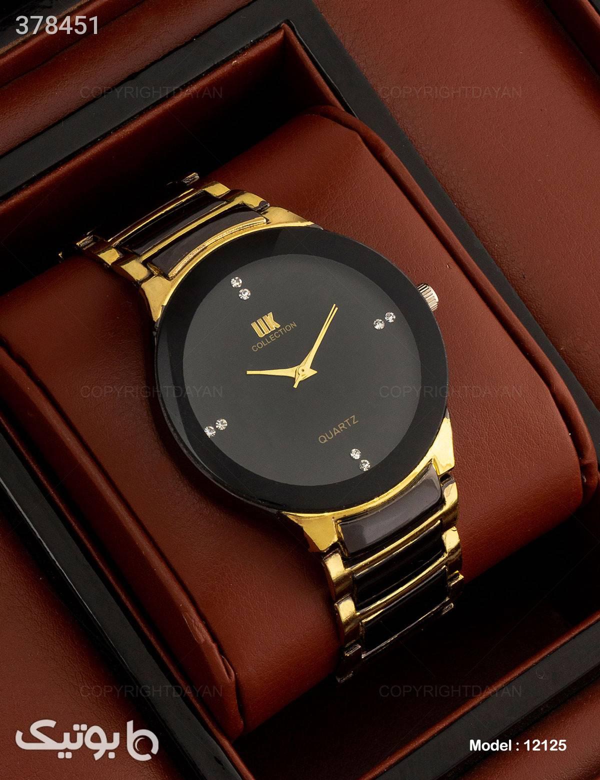 ساعت مچی مردانه IIk Collection مدل 12125 مشکی ساعت