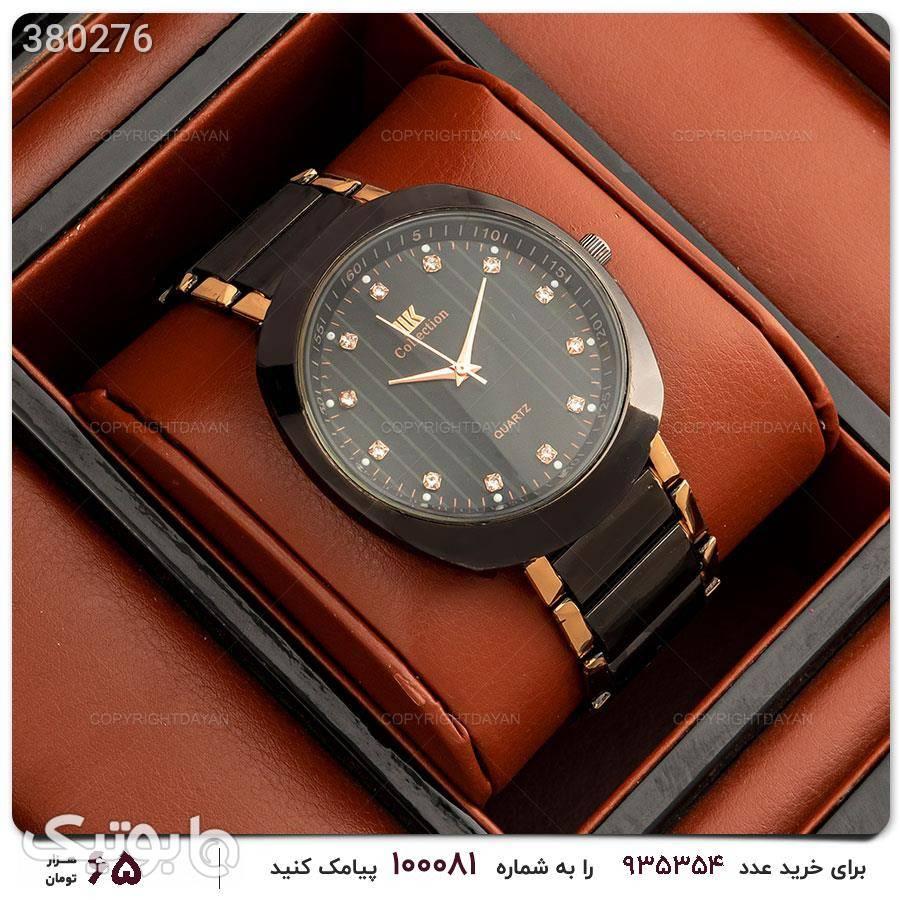 ساعت مچی مردانه IIk Collection مدل 12160 مشکی ساعت