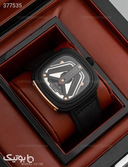 ساعت مچی مردانه Sevenfriday مدل 12150 مشکی ساعت