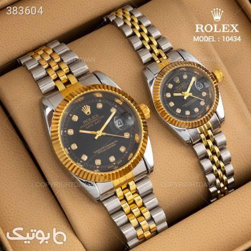 ست ساعت مچی Rolex مدل 10434 نقره ای ساعت