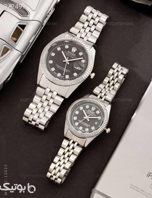 ست ساعت مچی Rolex مدل 12023 مشکی ساعت